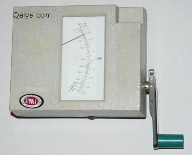 جهاز فحص العزل الميجر Megger Megger1