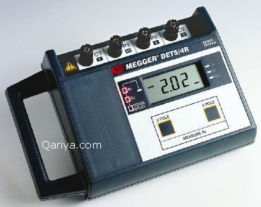 جهاز فحص العزل الميجر Megger Megger_elec