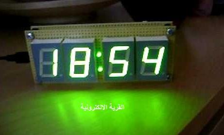 Digital Clock on Digital Counter Circuit