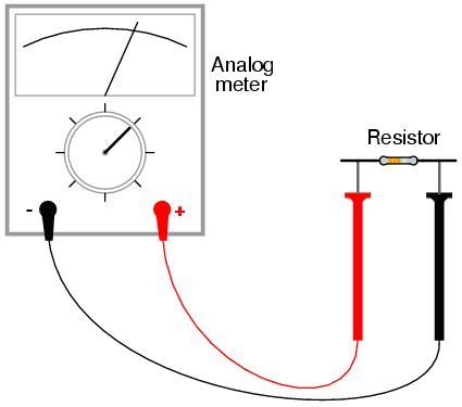 طريقة استخدام جهاز الملتيميتر الرقمي Pic6
