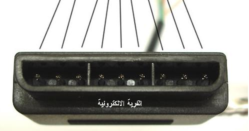 منافذ الكومبيوتر والاجهزه اللكترونيه Joystick_Playstation2_wire_2